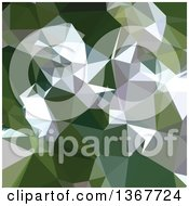 Clipart Of A Low Poly Abstract Geometric Background In Castleton Green Royalty Free Vector Illustration by patrimonio
