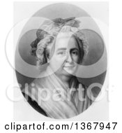 Historical Illustration Of Martha Washington Royalty Free Illustration
