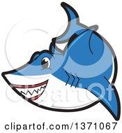 Shark School Mascot Character