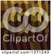 Clipart Of An Abstract Geometric Background In Caput Mortuum Brown Royalty Free Vector Illustration by patrimonio