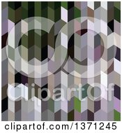 Clipart Of An Abstract Geometric Background In Chinese Violet Purple Royalty Free Vector Illustration by patrimonio
