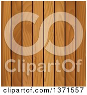 Clipart Of A Background Of Wood Panels Royalty Free Vector Illustration by Vector Tradition SM