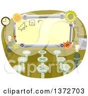 Classroom With Gear Cog Wheels