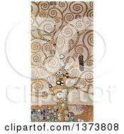 Royalty Free Illustration Of The Abstract Patterened Tree Of Life By Gustav Klimt C 1905 1909