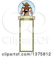 Poster, Art Print Of German Oktoberfest Dachshund Dog Wearing Lederhosen Bookmark