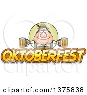Clipart Of A Happy Oktoberfest German Man Royalty Free Vector Illustration by Cory Thoman