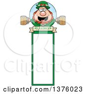 Happy St Patricks Day Leprechaun Bookmark