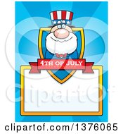 Fourth Of July Uncle Sam Page Border