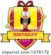 Birthday Gift Character Shield