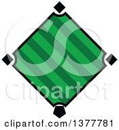 Poster, Art Print Of Green Baseball Diamond