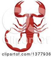 Clipart Of A Scorpion Royalty Free Vector Illustration by Vector Tradition SM