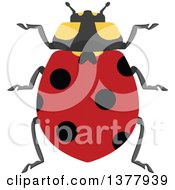 Clipart Of A Ladybug Royalty Free Vector Illustration by Vector Tradition SM