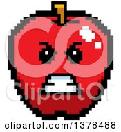 Mad Apple In 8 Bit Style