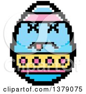 Dead Easter Egg Character In 8 Bit Style