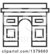 Clipart Of A Grayscale Royalty Free Vector Illustration