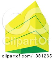 Clipart Of A City Highrise Building Royalty Free Vector Illustration