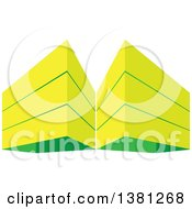 Clipart Of City Highrise Buildings Royalty Free Vector Illustration