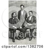 Royalty Free Historical Photomechanical Print Of Josh Billings Mark Twain Samuel Langhorne Clemens Petroleum V Nasby C 1868