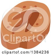 Clipart Of A Dinosaur Footprint Royalty Free Vector Illustration