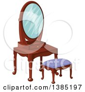 Royalty Free Rf Clipart Of Mirrors Illustrations