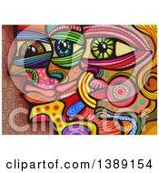 Folk Art Profiled Faces
