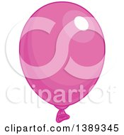 Pink Shiny Party Balloon