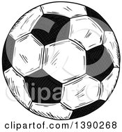 Sketched Soccer Ball