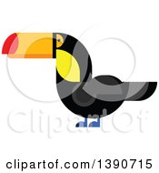 Clipart Of A Toucan Bird Royalty Free Vector Illustration