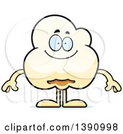 Cartoon Happy Popcorn Mascot Character