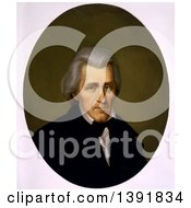 Historical Illustration Of Andrew Jackson Head And Shoulders Portrait Facing Slightly Right by JVPD
