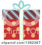Flat Design Gift Box