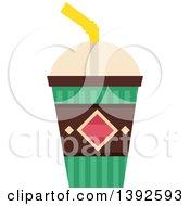 Flat Design Cold Drink