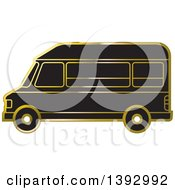Black And Gold Van