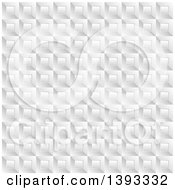Grayscale Square Background Pattern