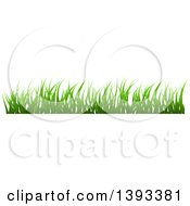 Clipart Of A Grass Border Royalty Free Vector Illustration by vectorace