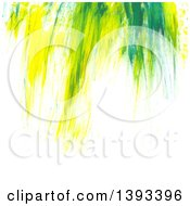 Poster, Art Print Of Green Paint Background