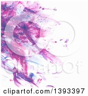 Poster, Art Print Of Purple Paint Background