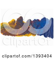 Poster, Art Print Of Oil Paint Background