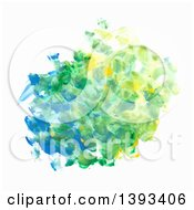 Oil Paint Fingerprint Background