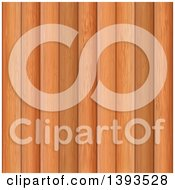 Clipart Of A Background Of Wood Planks Royalty Free Vector Illustration