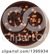 Clipart Of A Small Bowl Of Culinary Spices Cloves Royalty Free Vector Illustration