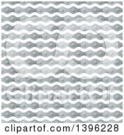Clipart Of A Seamless Pattern Background Of Bicycle Chains Royalty Free Vector Illustration