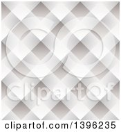 Seamless Pattern Background Of Gray And White Woven Paper