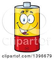 Cartoon Battery Character Mascot