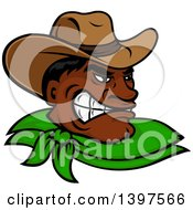 Tough Hispanic Cowboy