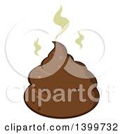 Cartoon Stinky Pile Of Poop