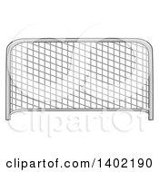 Cartoon Soccer Association Football Goal