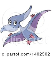 Flying Pterodactyl Dinosaur