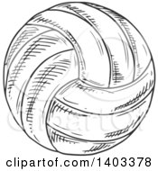 Sketched Volleyball