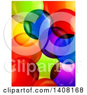 Background Of 3d Colorful Bubbles
